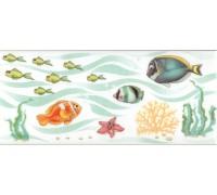 Декоративная облицовочная плитка Аккорд Рыбки