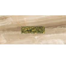 Декоративная облицовочная плитка с вырезом и вставкой (стекло) Антарес