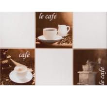 Декоративная плитка Моноколор Кофейня
