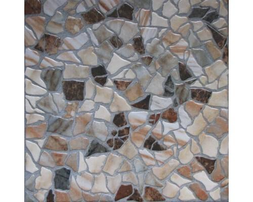 726262 Мюнхен камни / Напольный керамогранит / 33х33 см